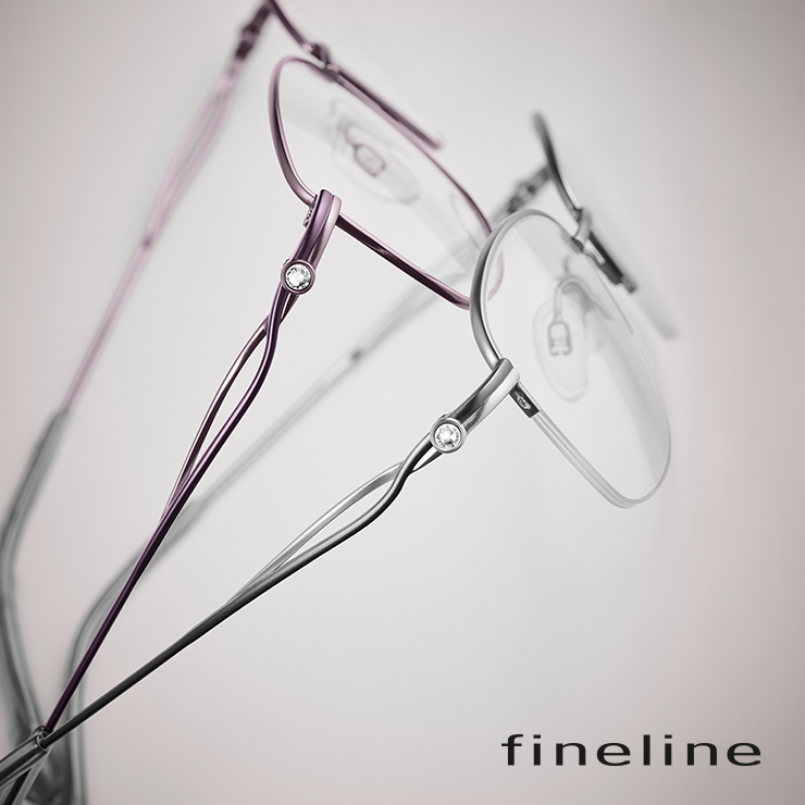 fineline. Eyewear for women with style.