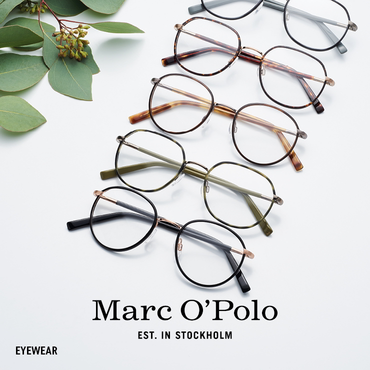 MARC O'POLO Eyewear. For people remaining true to themselves.