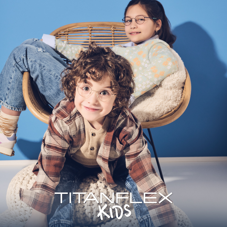 TITANFLEX Kids. Tough and childproof.