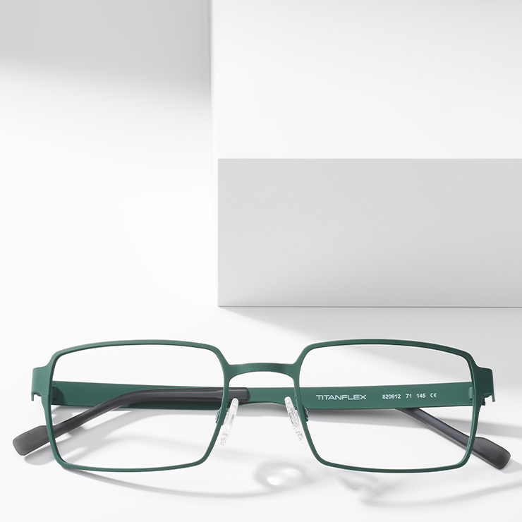 masculine design - TITANFLEX glasses for men