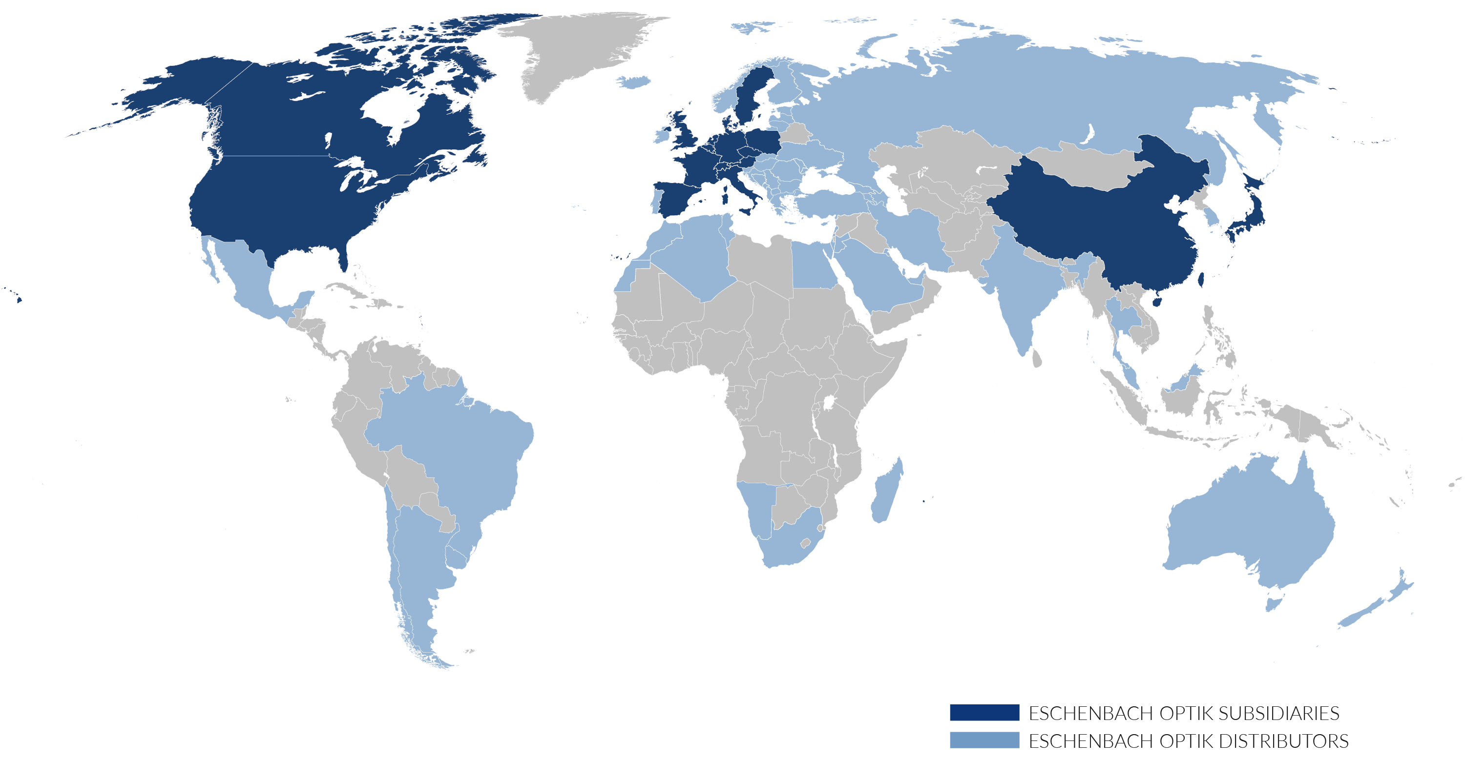 ESCHENBACH LOCATIONS WORLDWIDE