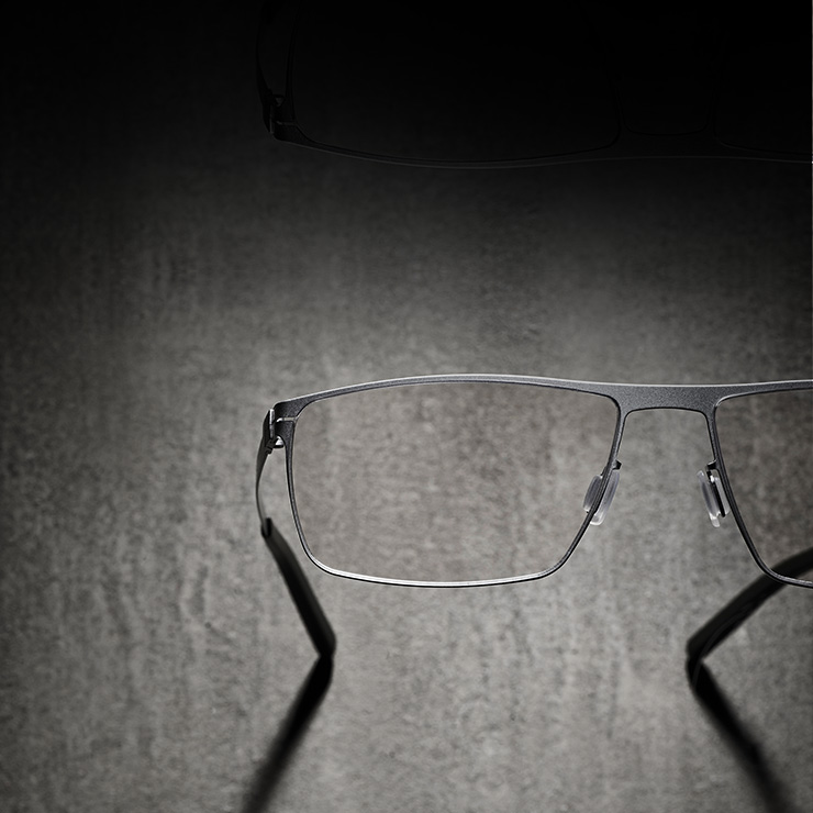 FREIGEIST spectacles from Eschenbach Eyewear with corrosion-resistant titanium